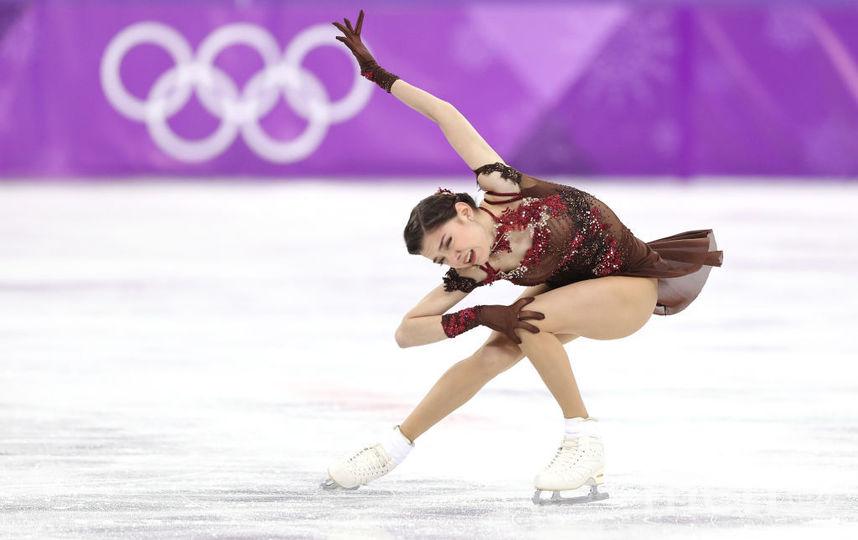 Евгения Медведева, Олимпийские игры - 2018. Фотоархив. Фото Getty