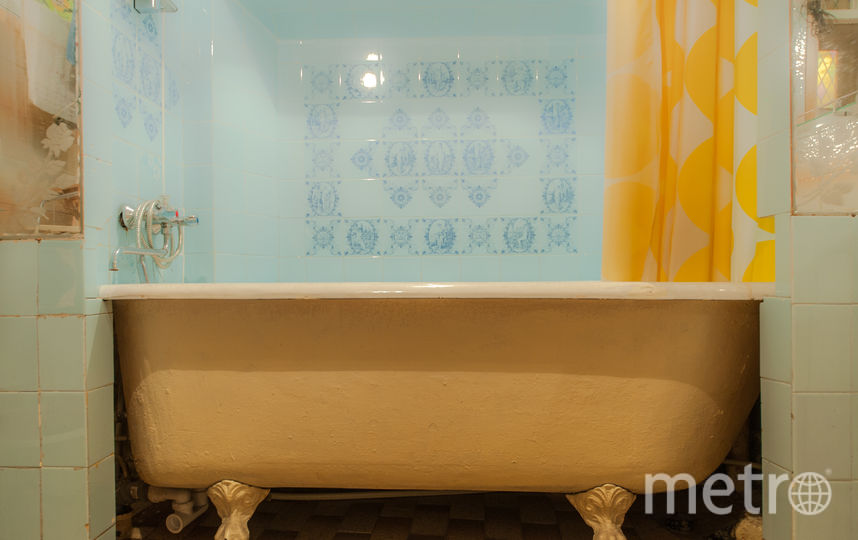 """В этой ванне мылся Шостакович. Фото """"Мир квартир"""""""