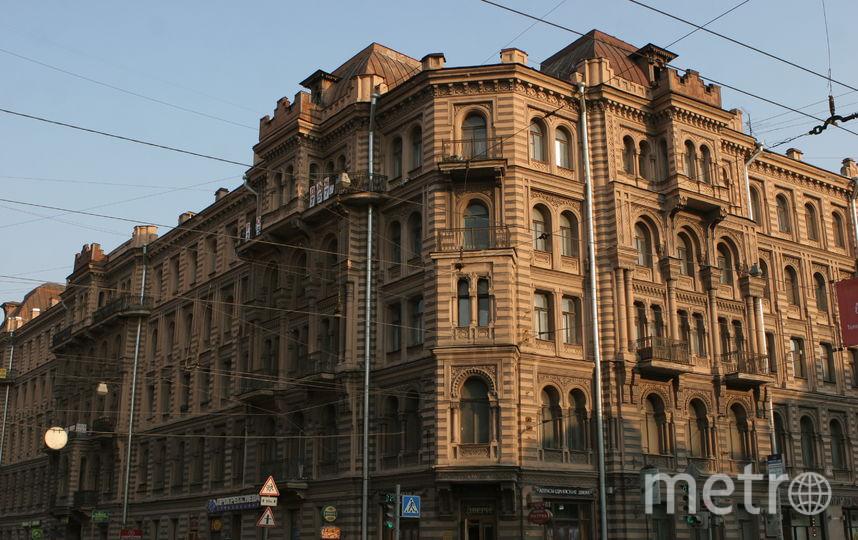 "Дом, где находилась квартира Мурузи. Фото ""Metro"""