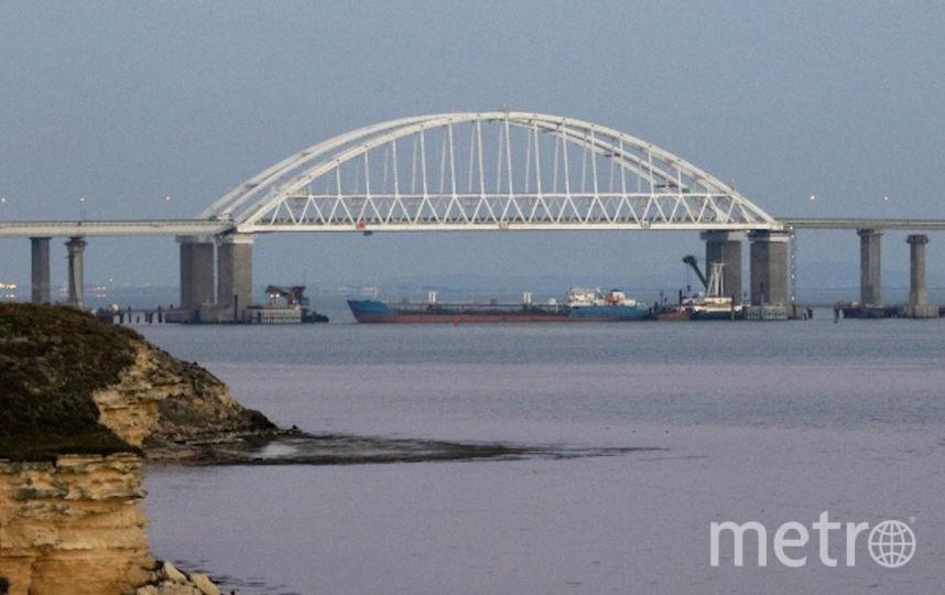 Керченский пролив. Фото РИА Новости