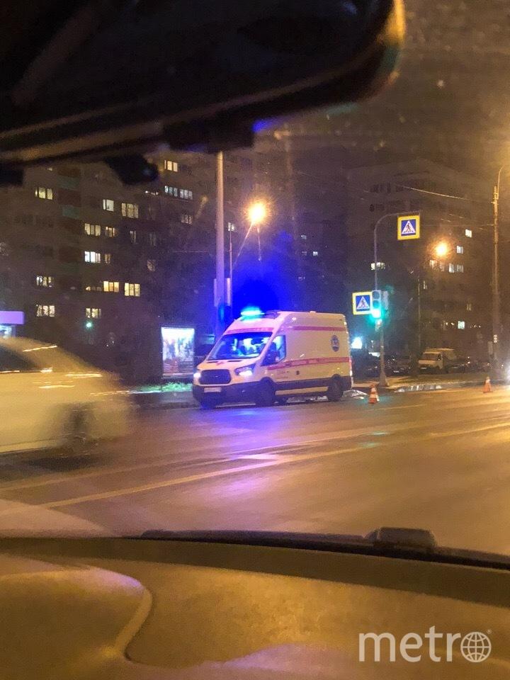 Фото с места ДТП на пр.Жукова. Фото vk.com