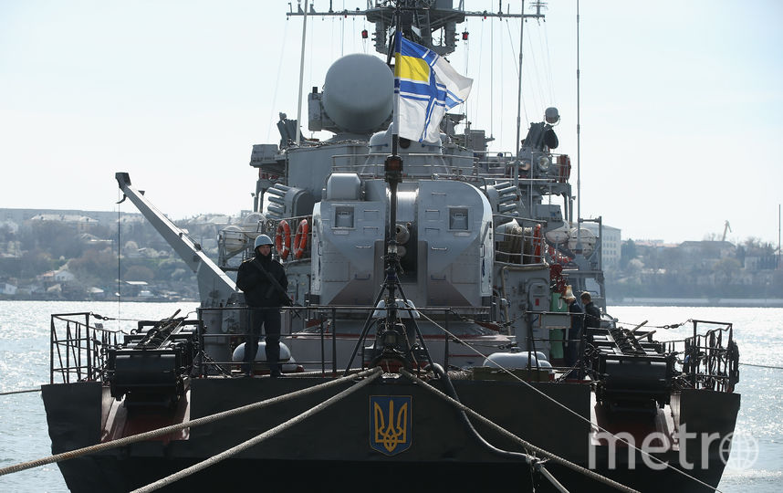 Корабль украинского флота. Фото Getty