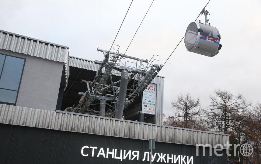В Москве открылась канатная дорога. Фото Василий Кузьмичёнок