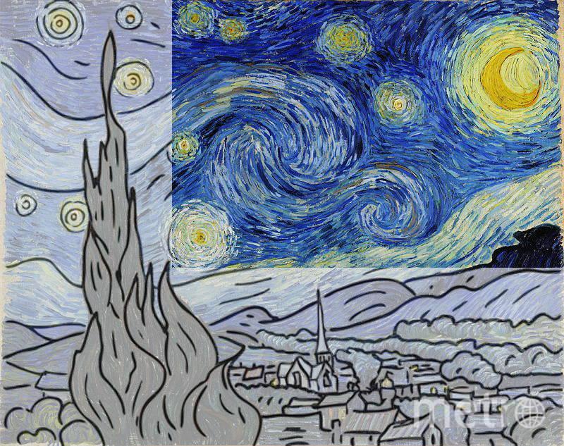 «Звёздную ночь» рисуют даже дети. Фото Предоставлено организаторами