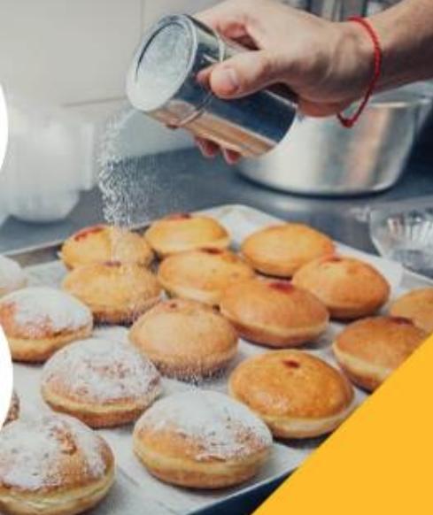 Пончик – один из символов Хануки. Фото givingtuesday.ru