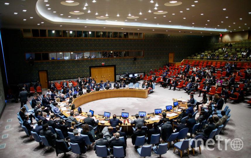 Члены Совета Безопасности ООН в понедельник не приняли российскую повестку заседания по кризису с Украиной. Фото Getty