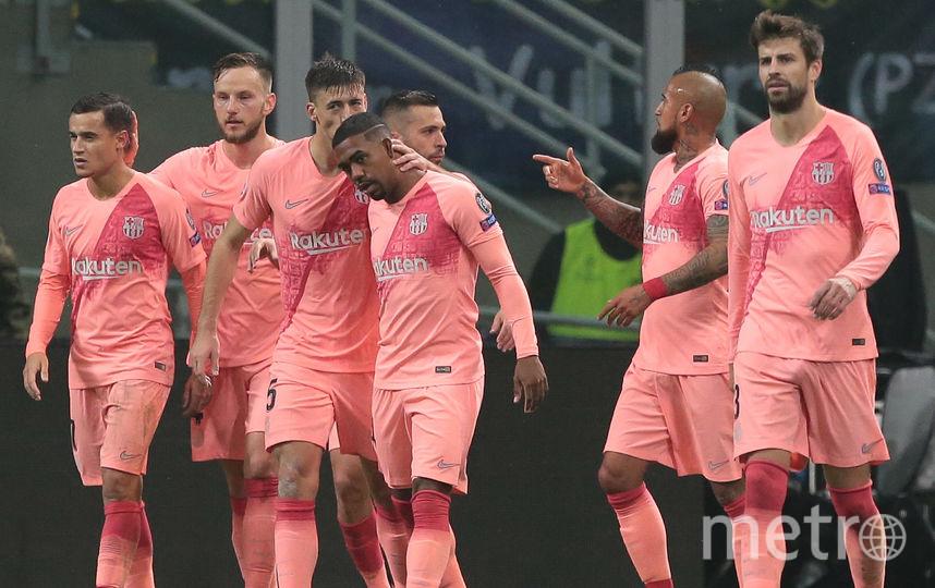 """Футболисты """"Барселоны"""". Фото Getty"""