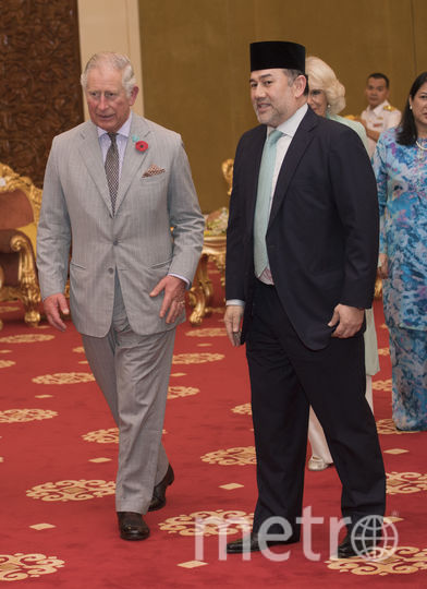 Король Малайзии и принц Чарльз. Фото Getty