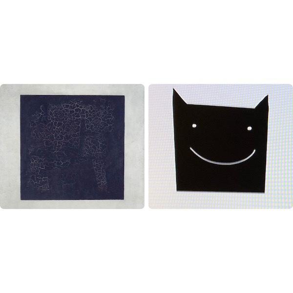 """Казимир Малевич «Чёрный квадрат», картина из мультфильма «Три кота». Фото """"Metro"""""""