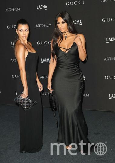 Кортни и её сестра Ким Кардашьян, архивное фото. Фото Getty