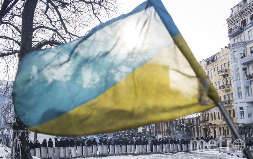 Флаг Украины. Фото Getty