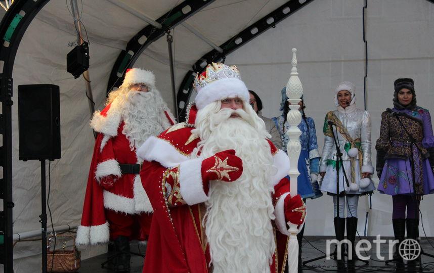 Ежегодно Йоулупукки встречается с Дедом Морозом. Фото Предоставлено организаторами