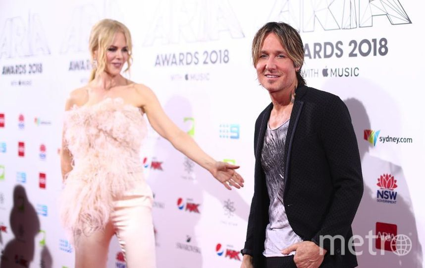 ARIA Awards. Николь Кидман и Кит Урбан. Фото Getty