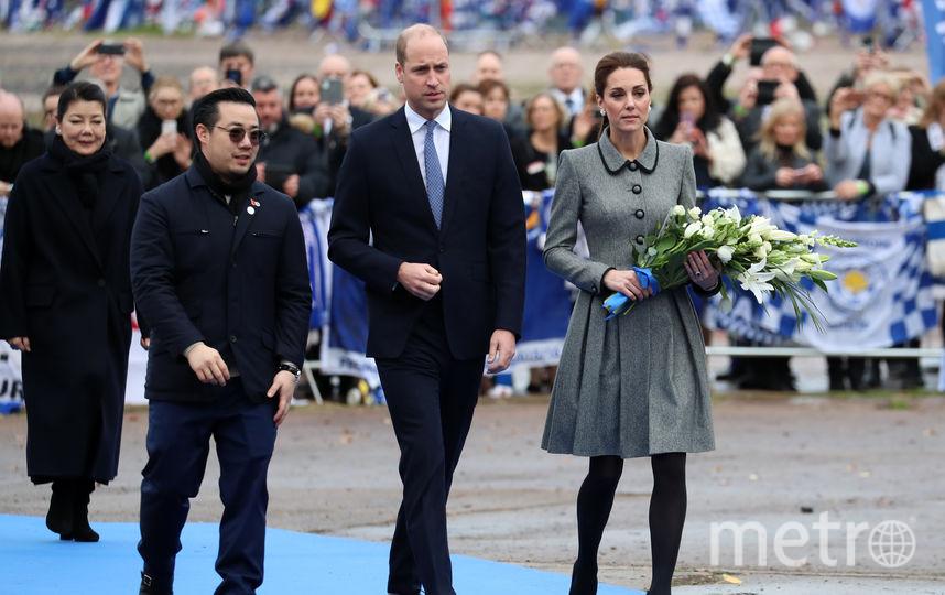 Герцог и герцогиня Кембриджские побывали на месте трагедии. Фото Getty