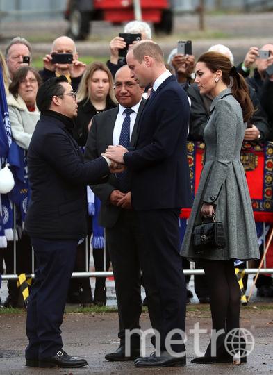 Кейт Миддлтон и принц Уильям пообщались с волонтерами. Фото Getty