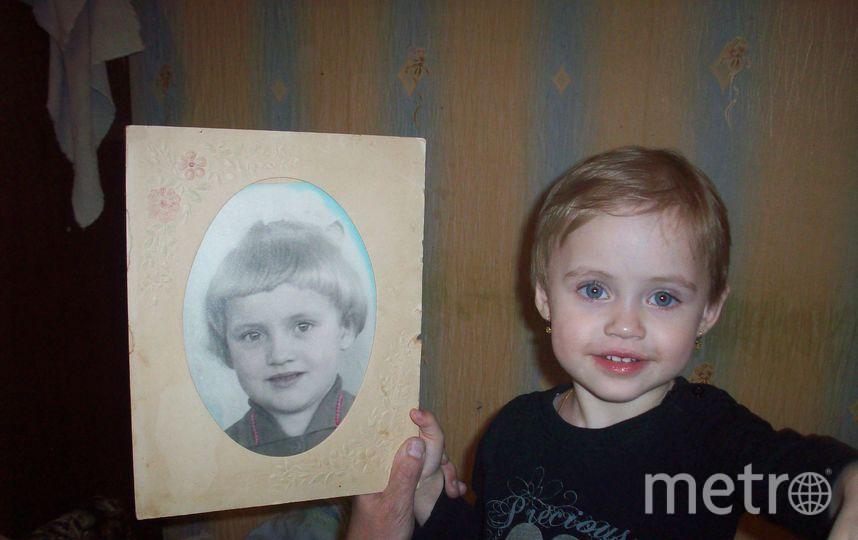 Детская фотография бабушки Лены Блиновой и внучка Полина Кутузова!! Фото Владимир Блинов