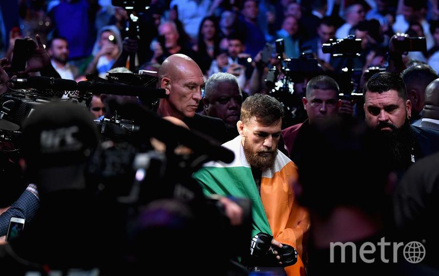 Ирландский боец Конор Макгрегор. Фото Getty