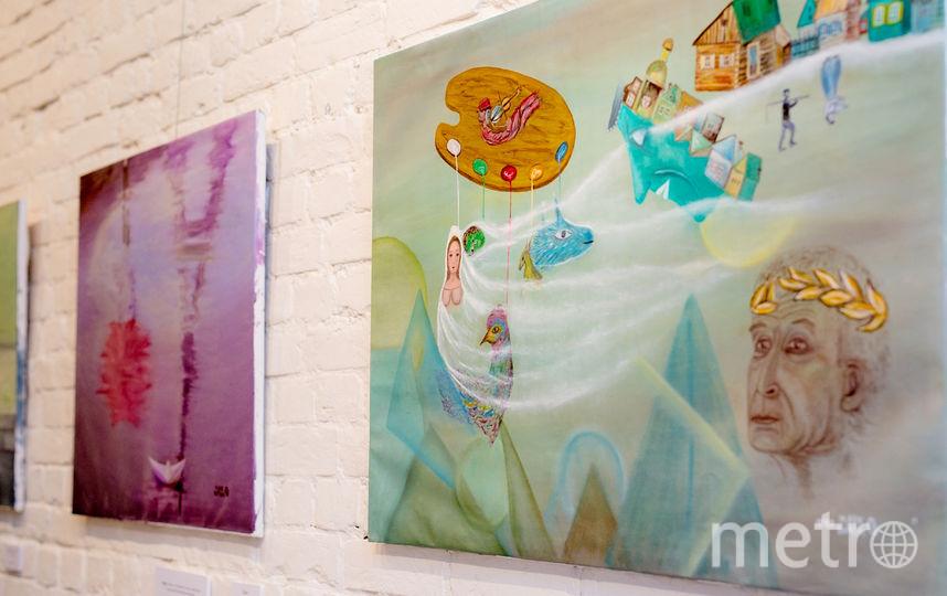 Выставка картин Ирины Марков-Шагал в Петербурге. Фото предосталвено организаторами.