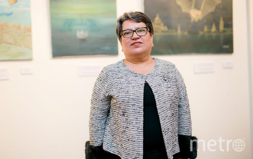 Ирина Марков-Шагал в Петербурге.
