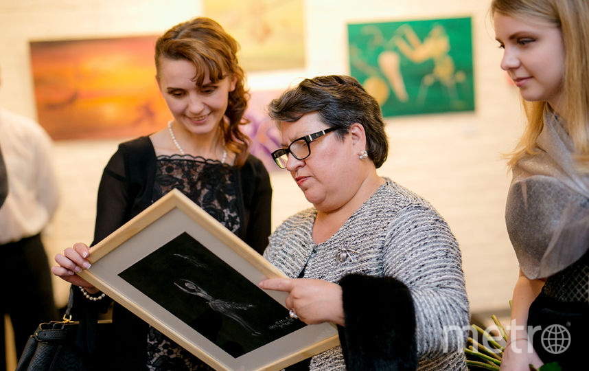 Выставка картин Ирины Марков-Шагал в Петербурге.