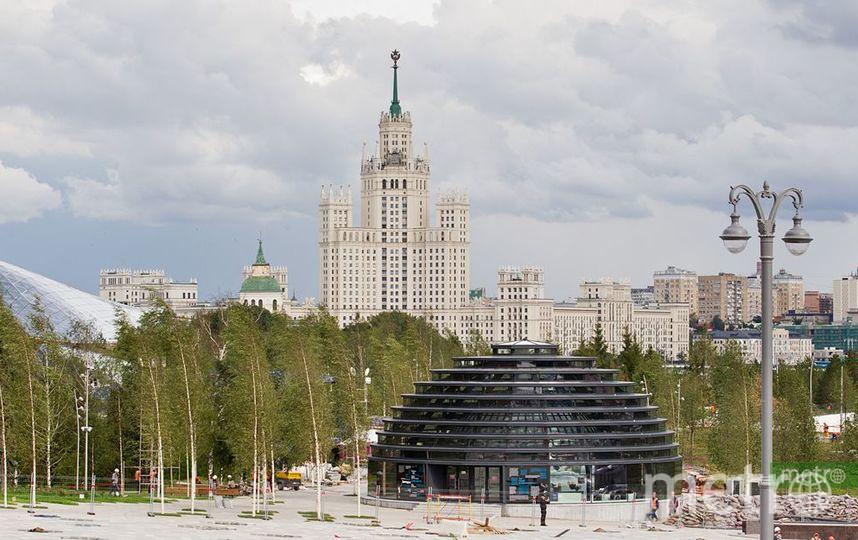 Москва из города для заводов превратилась в город для людей. Фото Василий Кузьмичёнок
