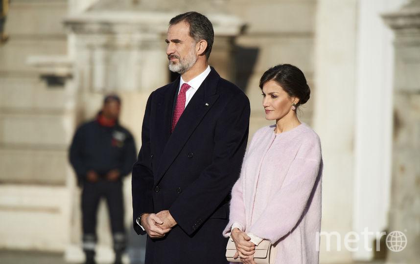 Король и королева Испании ждут прибытия гостей. Фото Getty
