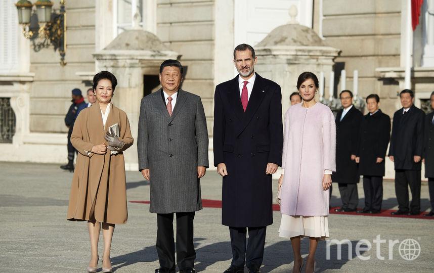 Официальный визит главы КНР Си Цзиньпина Пэн Лиюань в Испанию. Фото Getty
