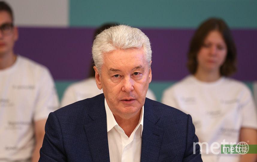 Сергей Собянин. Фото Василий Кузьмичёнок