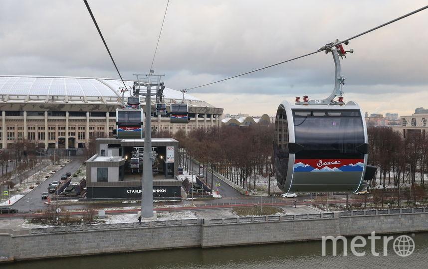 Канатная дорога открылась для пассажиров 27 ноября. Фото Василий Кузьмичёнок