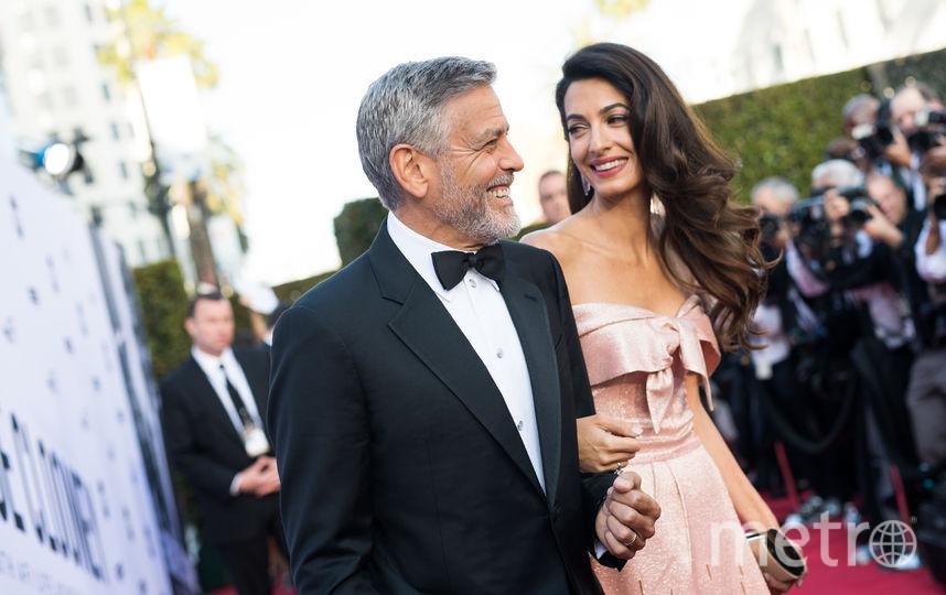 Джордж Клуни и его супруга Амаль. Фото Getty