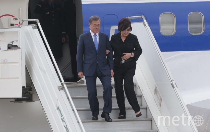 G20. Глава Южной Кореи с супругой. Фото Getty