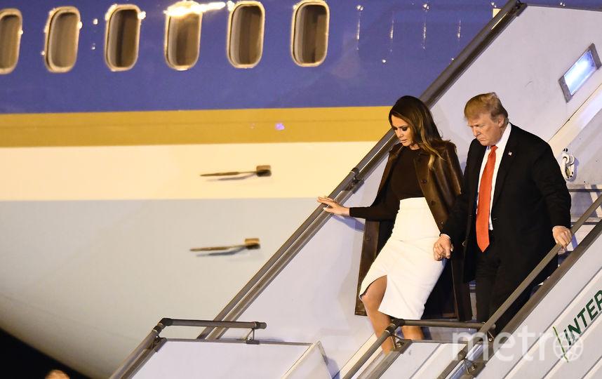 Президент США с супругой Меланией Трамп. Фото Getty