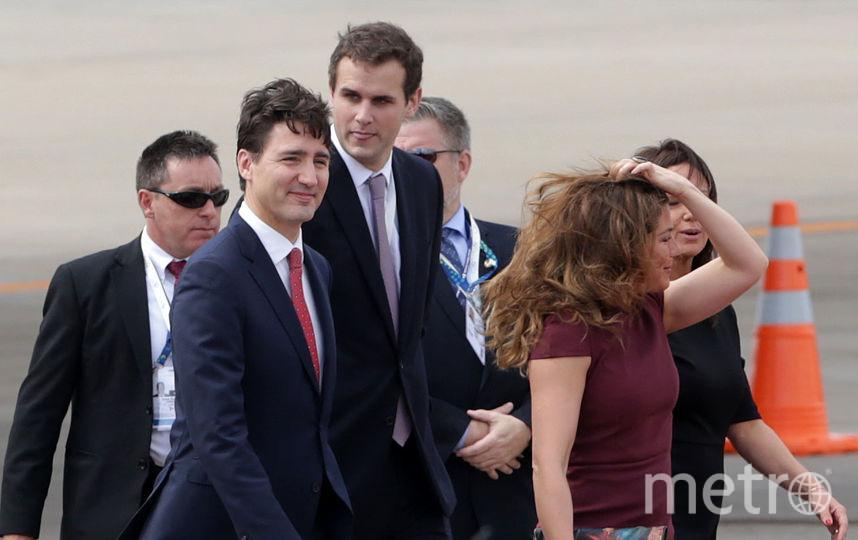 Премьер-министр Канады Джастин Трюдо с женой Софи Грегуар. Фото Getty