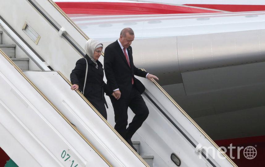 Президент Турции с женой. Фото Getty