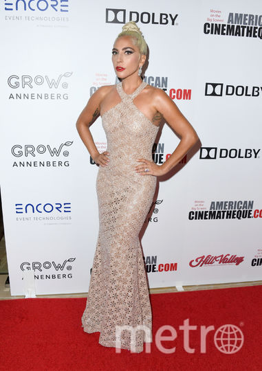 """Леди Гага. Вручение 32-й премии """"Американской синематеки"""" (32nd American Cinematheque Award). Фото Getty"""