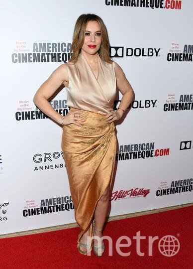 """Алисса Милано. Вручение 32-й премии """"Американской синематеки"""" (32nd American Cinematheque Award). Фото Getty"""