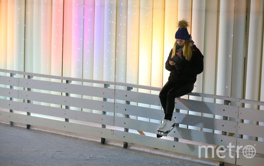 Каток в Парке Горького. Фото Василий Кузьмичёнок