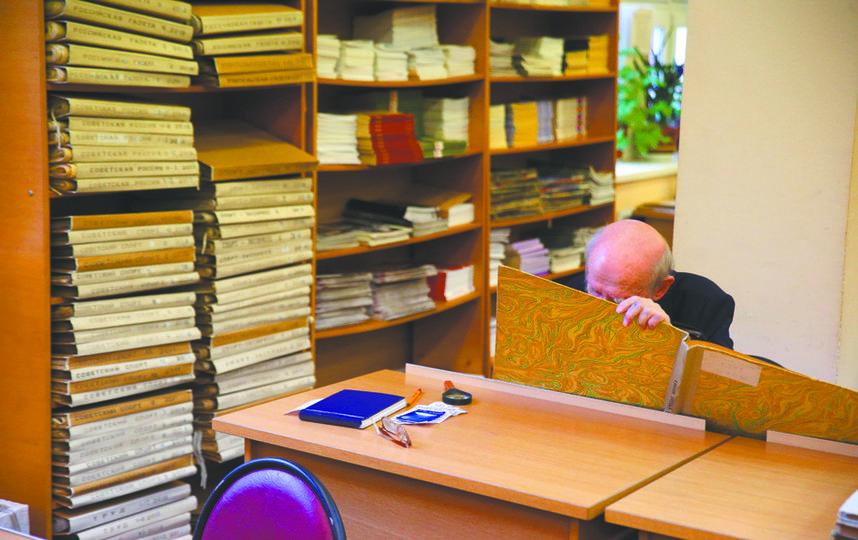 Богатейший фонд периодики – гордость библиотеки. Фото Василий Кузьмичёнок