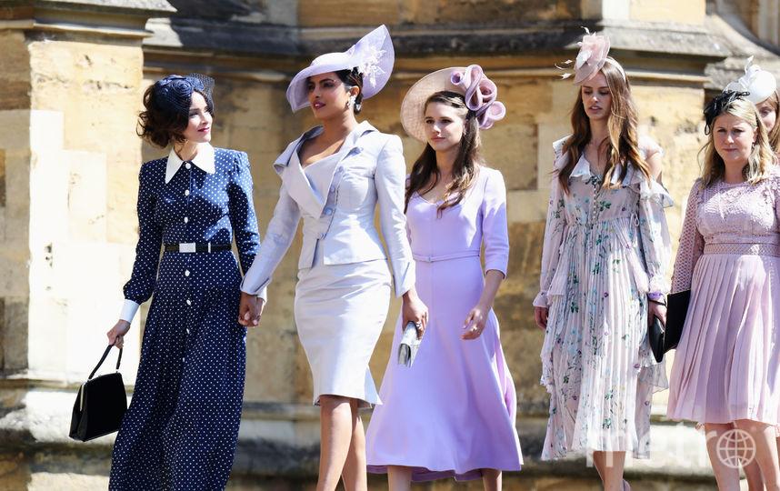 Приянка Чопра на свадьбе принца Гарри и Меган Маркл. Фото Getty