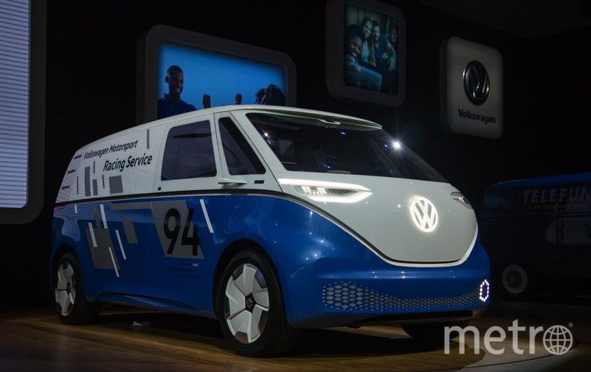 Volkswagen I.D. Buzz Cargo Concept. Фото Getty
