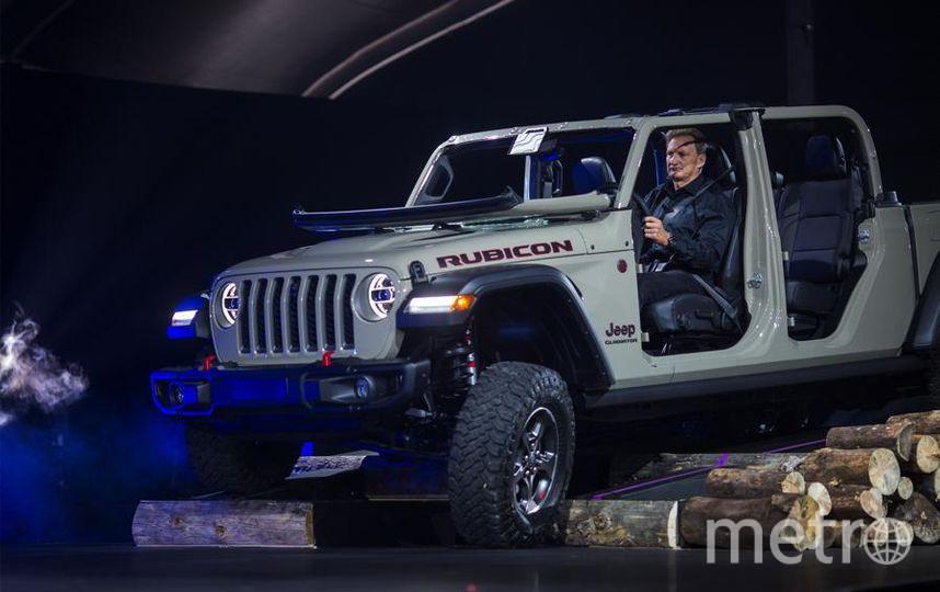Новинки автосалона в Лос-Анджелесе. Jeep Gladiator. Фото Getty