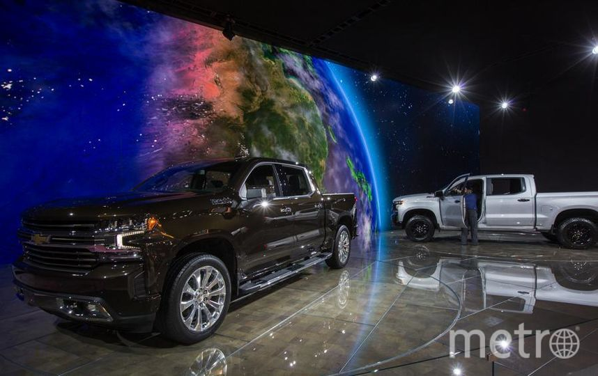 Chevrolet Silverado. Фото Getty