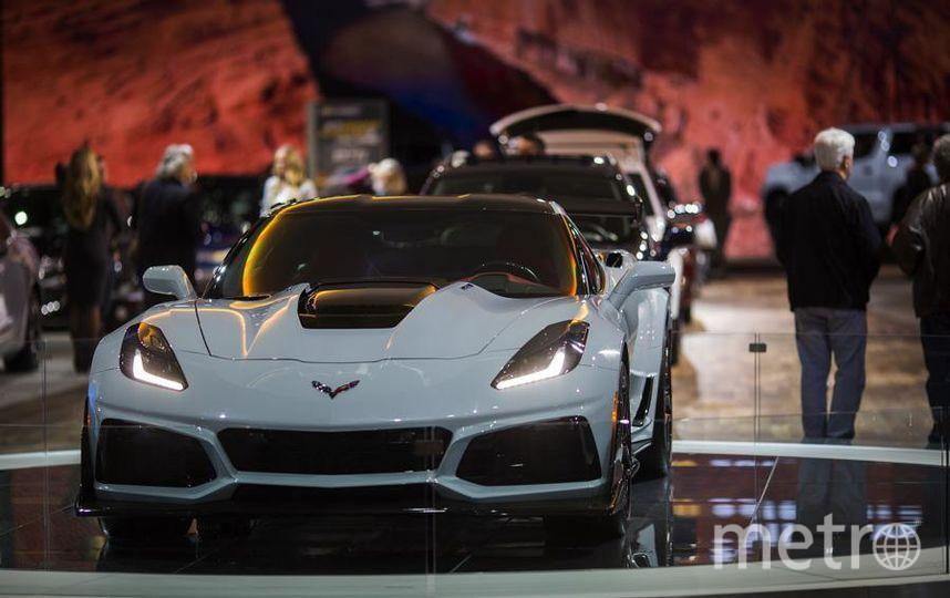 Автосалон в Лос-Анджелесе-2018. Chevrolet Corvette ZR1. Фото Getty