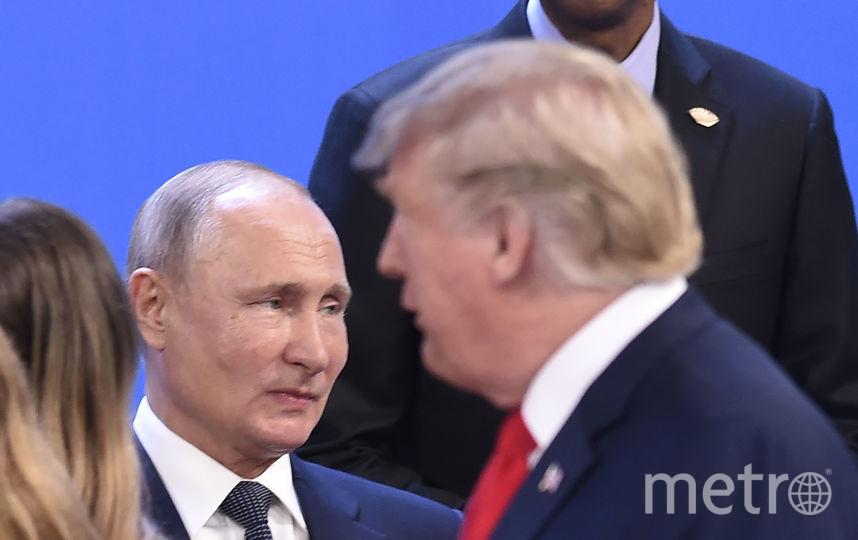 Владимир Путин и Дональд Трамп на саммите G20. Фото AFP