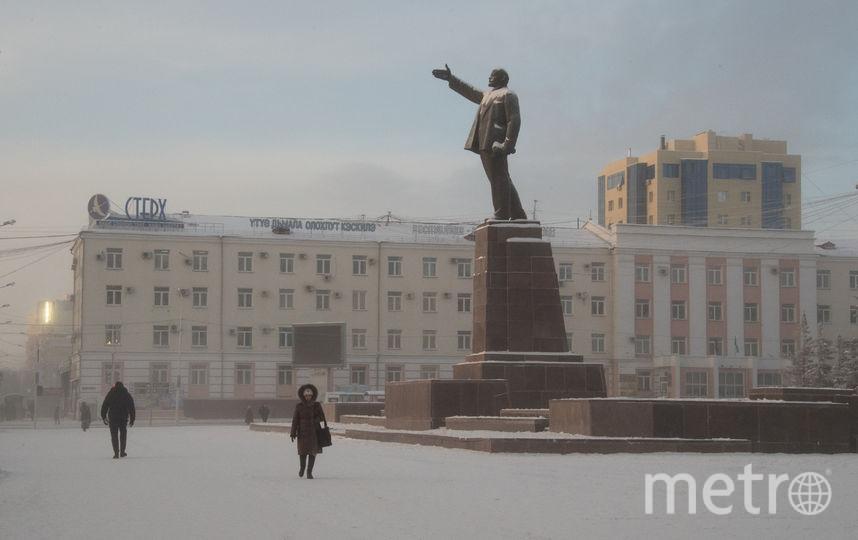 Памятник Ленину. Фото AFP