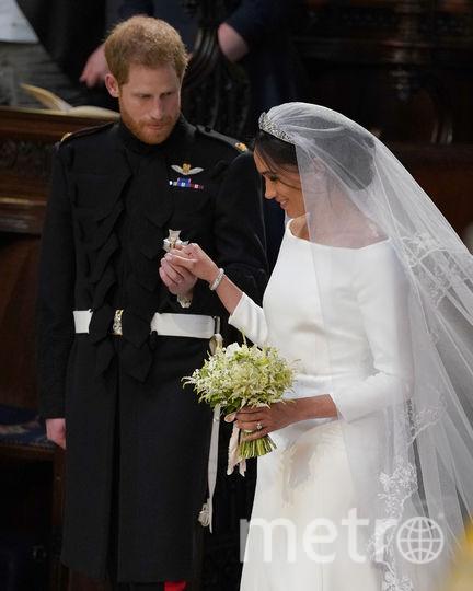 Венчание Меган Маркл и принца Гарри в Часовне святого Георгия. Фото Getty