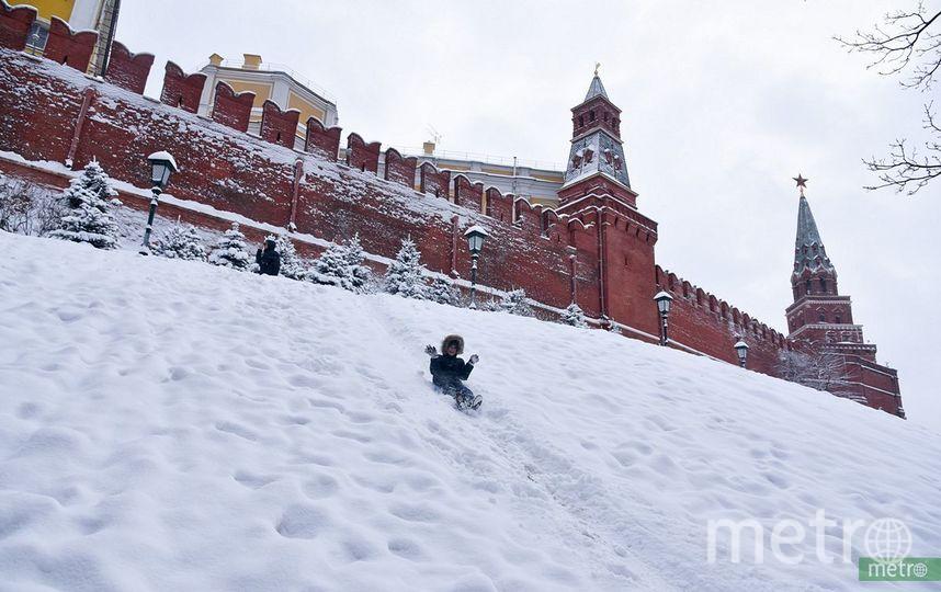 На Москву движется снегопад. Фото Василий Кузьмичёнок