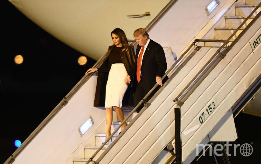 Дональд и Мелания Трамп на саммите G20. Фото Getty