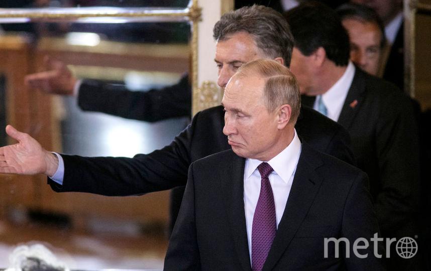 Владимир Путин на саммите G20. Фото Getty