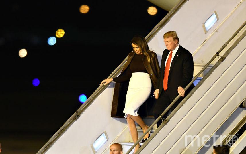 Мелания и Дональд Трамп, фотоархив. Фото Getty